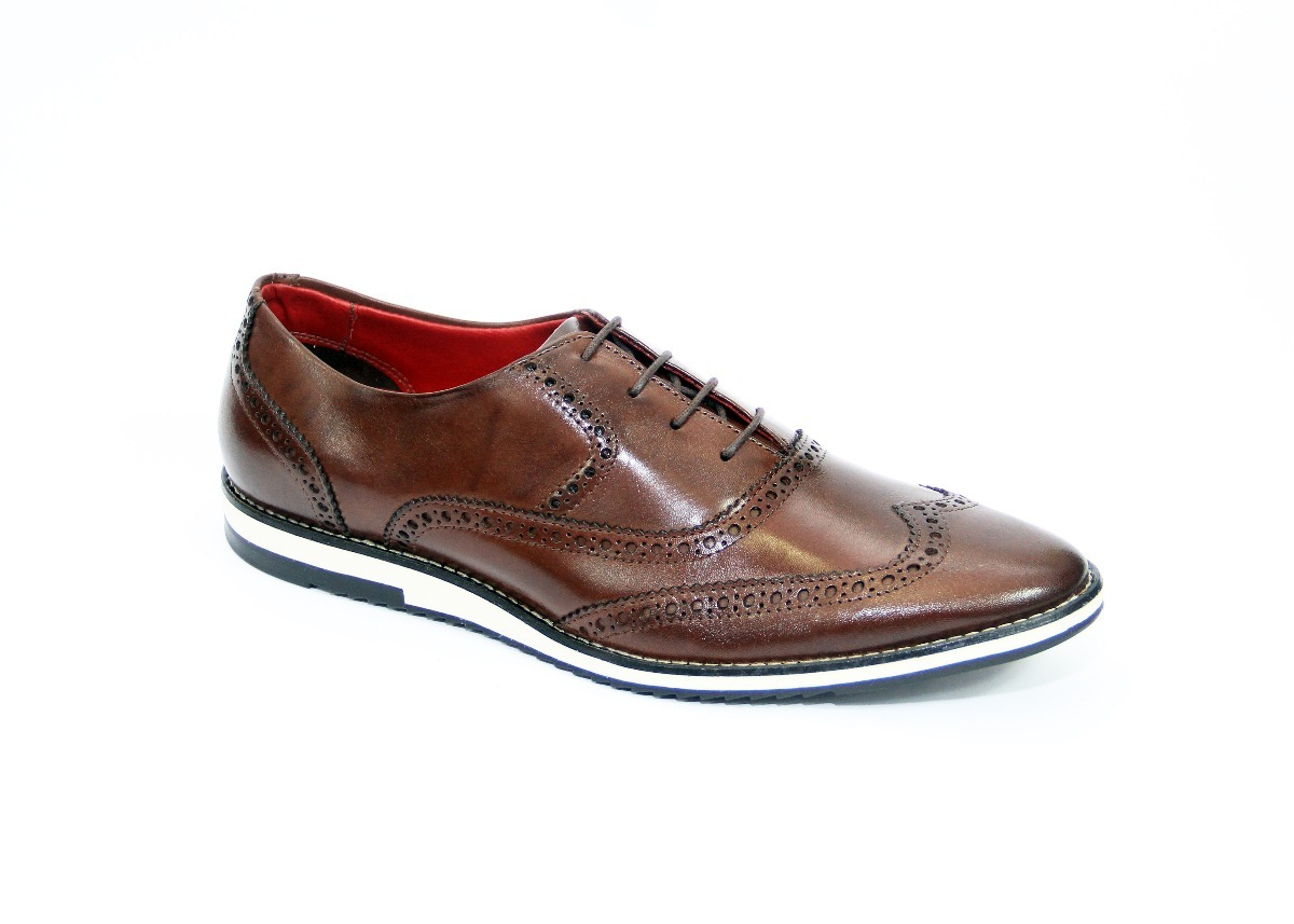 b859b9482c kit sapato casual sapatenis oxford inglês brogue+cinto couro. Carregando  zoom.