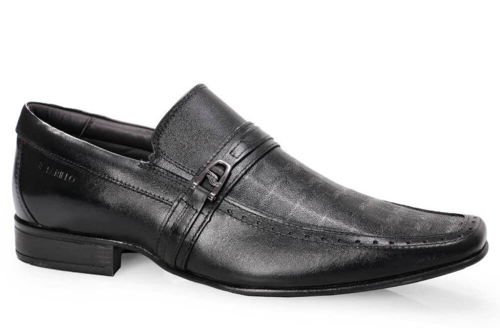 f130ff422 Kit Sapato Couro Rafarillo 6601 Preto+cinto+meia+calçadeira - R$ 179,00 em  Mercado Livre