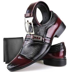 3c7e80592 Sapatos Envernizados Masculino - Sapatos Bordô com o Melhores Preços no  Mercado Livre Brasil