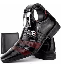 f1df6ed12 Sapato Social Masculino Cinza - Sapatos com o Melhores Preços no Mercado  Livre Brasil