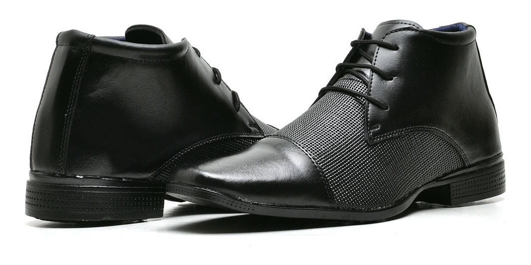 b5a153889 kit sapato social masculino verniz couro + relógio original. Carregando zoom .