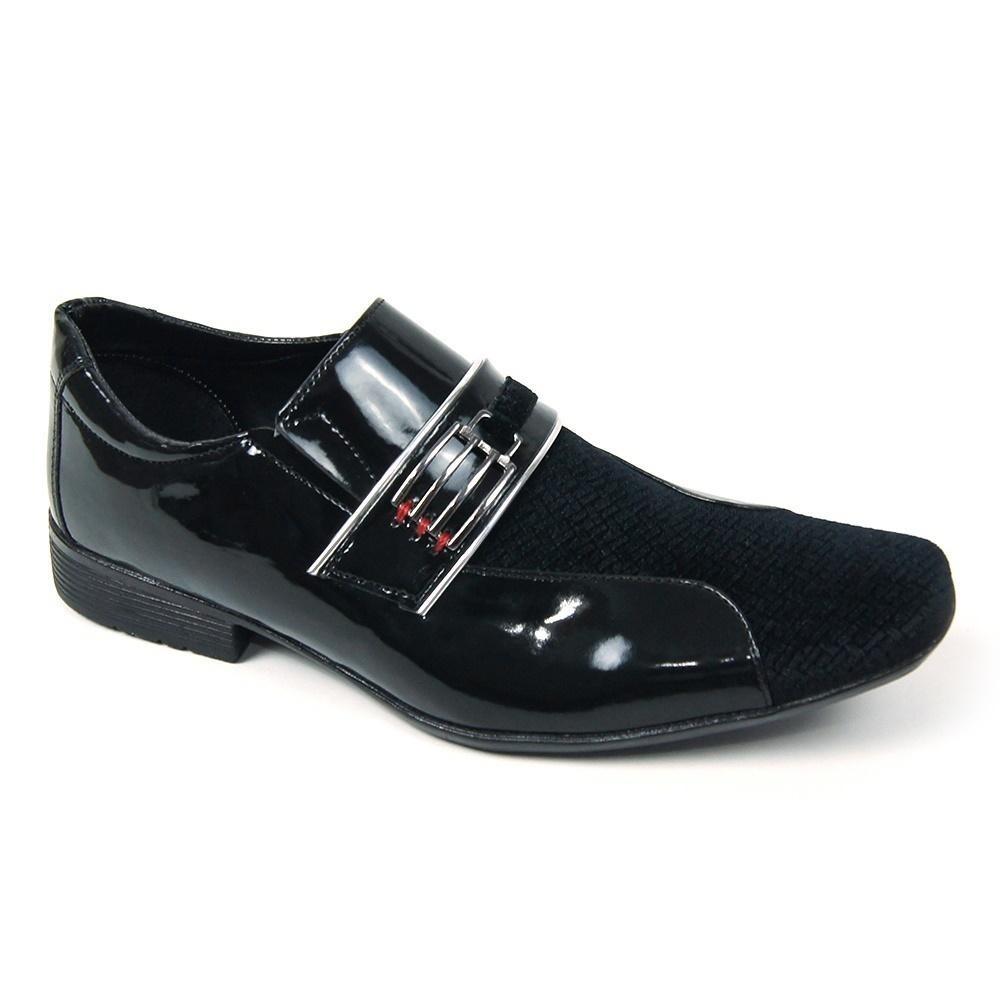 59734f623 kit sapato social schiareli carteira cinto bico em camurça. Carregando zoom.
