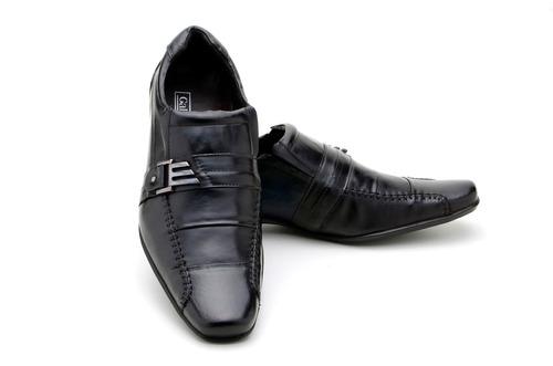kit sapato social,cinto,meia,calçadeira carteira masculino