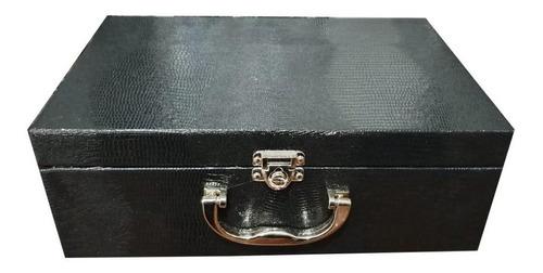 kit saquinho de veludo 100(m) + 100(g) cor mista +maleta exg