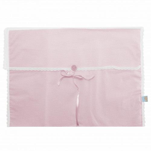 kit saquinhos maternidade bege 4 peças para neném menina