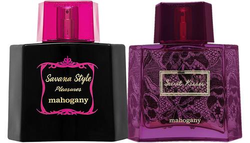kit savana style pleasures mahogany perfume + secret kisses