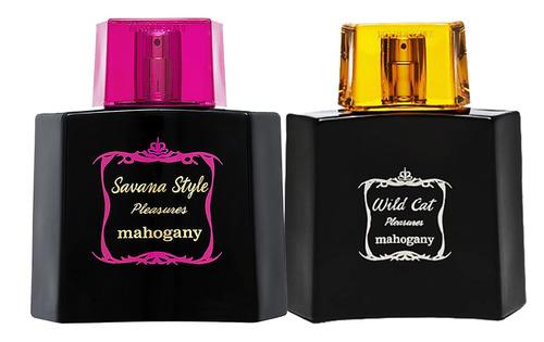 kit savana style pleasures mahogany perfume + wild cat