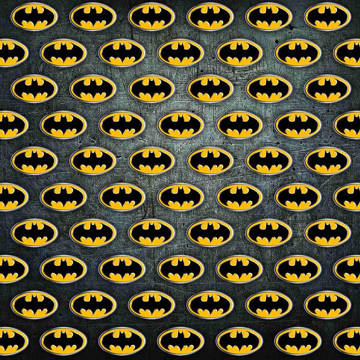 Kit Scrapbook Batman Papel Digital Elementos Brinde R