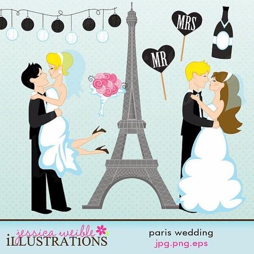 kit scrapbook digital casamento imagens clipart cod 4