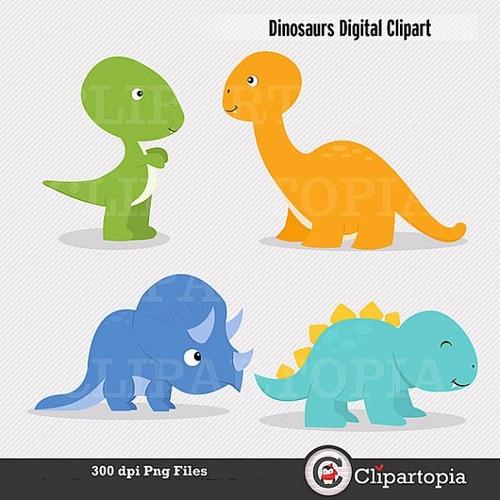 kit scrapbook digital dinossauros clipart imagens