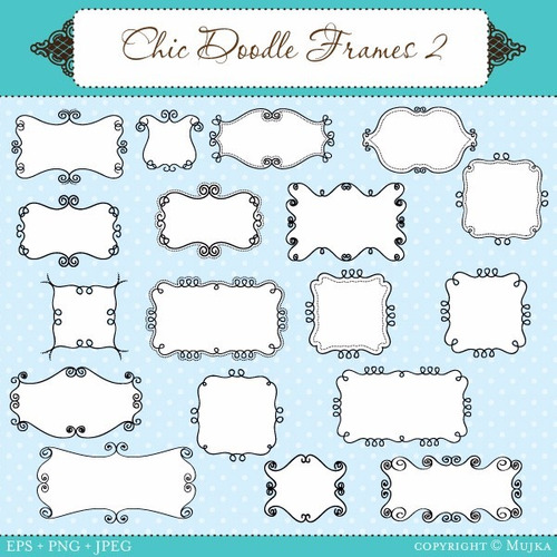 kit scrapbook digital frames molduras quadros labels cod 37