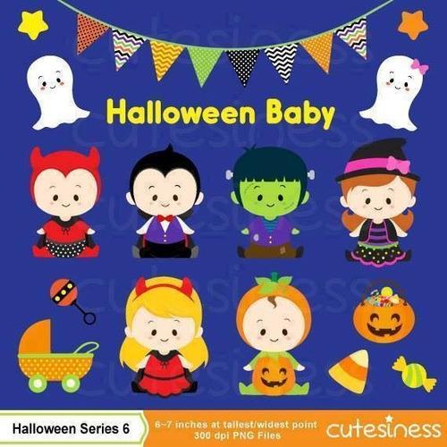 kit scrapbook digital halloween imagens clipart cod 25