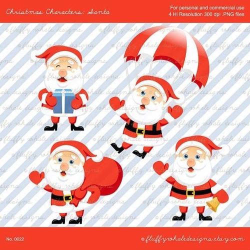 kit scrapbook digital natal imagens clipart cod 103