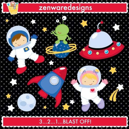 kit scrapbook digital papéis astronauta foguete cod 8