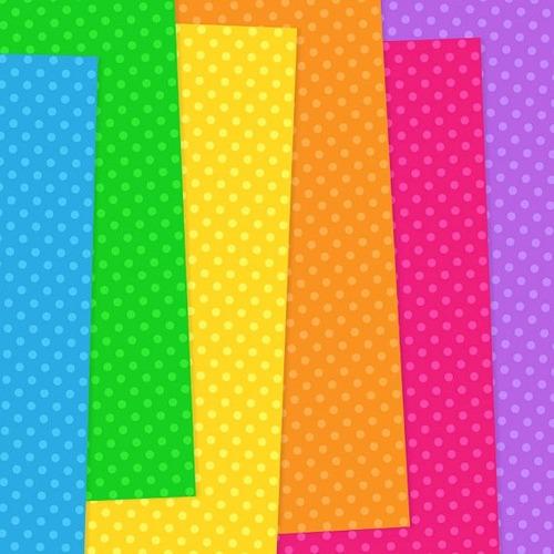 kit scrapbook digital papeis bolinhas pontos cod 37