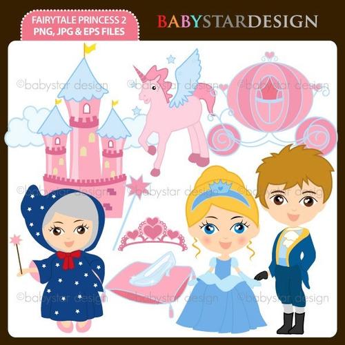 kit scrapbook digital princesas disney imagens clipart cod28