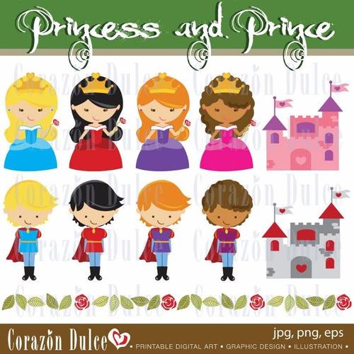 kit scrapbook digital princesas imagens clipart cod 31