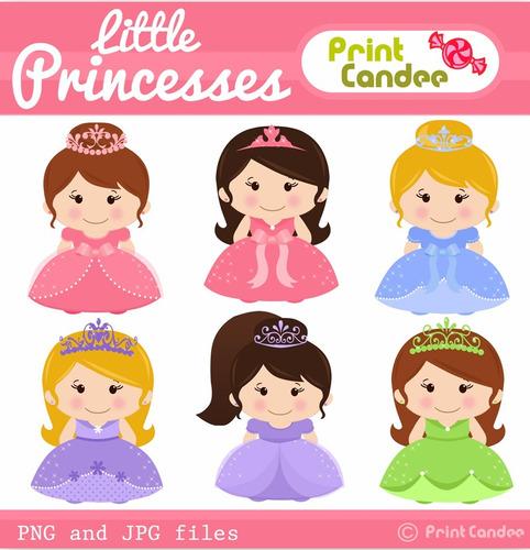kit scrapbook digital princesas imagens clipart cod 42