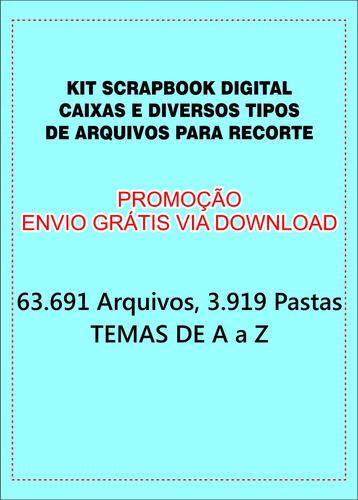 kit scrapbook digital+silhouette