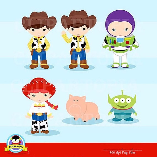 kit scrapbook digital toy story imagens clipart