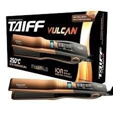kit secador vulcan + chapinha vulcan - linha diamante -taiff