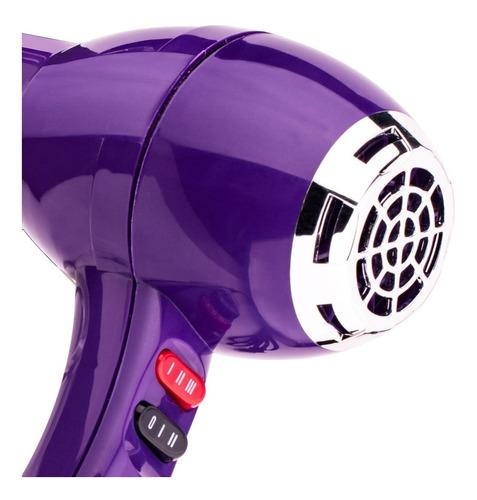 kit secadora cabello tecnología cer+ion + alaciadora ceramic