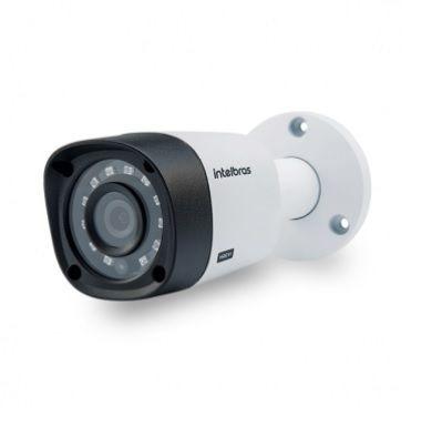 kit segurança dvr 8 canais 6 câmeras 3130 intelbras hd 1tb