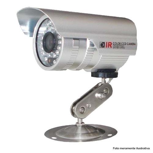 kit segurança dvr 8 canais newprotec 4 câmeras ccd 1200l