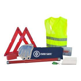 Kit Seguridad Para Auto Complementario Sin Matafuego Gold Apto Vtv