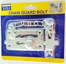 kit  seguridad para el hogar cadena y pasador de puerta ypt