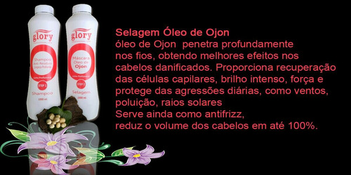 kit selagem óleo de ojon