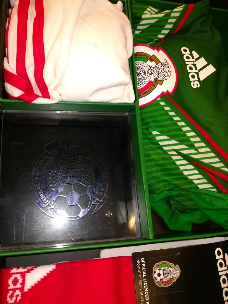 417af9f2de6f1 Kit Seleccion Mexico Adizero Limited Edition Mundial Brasil ...