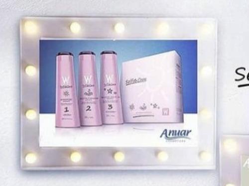 kit selfcare 900ml anuar cosméticos