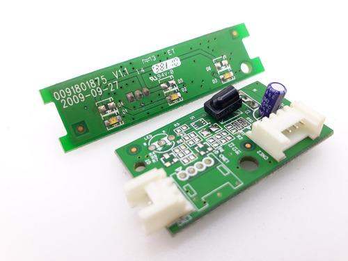 kit sensor controle + indicador luz tv buster hbtv-32d03hd *