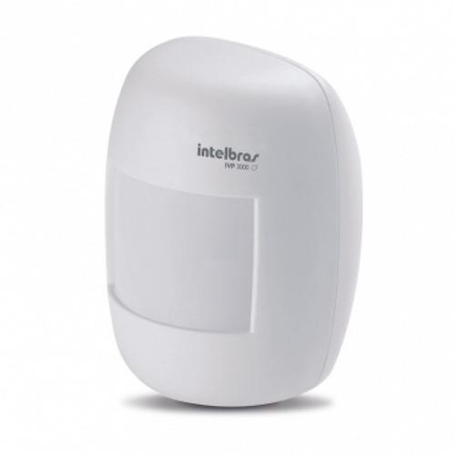 kit sensor de alarme intelbras com fio ivp-3000cf 3 unidades