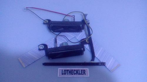 kit sensor rem, teclado,flat,falantes tv samsung un32d4003