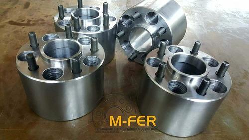 kit separadores de ruedas dodge d100 60mm de acero