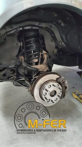 kit separadores ruedas mitsubishi l200 triton 139.7 40mm