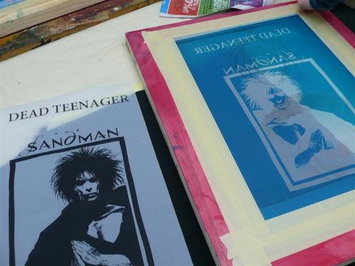 kit serigrafia remeras buzos bolsas friselina papel carton
