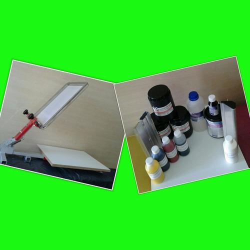 kit serigrafico inicial con mesa simple