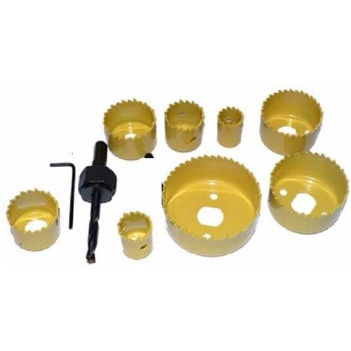 kit serra copo bimetal 19 a 64mm 11 peças profissional aco