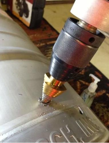kit set 3 mechas escalonadas baño titanio 4 -32 milímetros