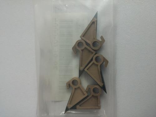 kit set de 5 uñas konica minolta bh250/350 di 2510/3510/3010