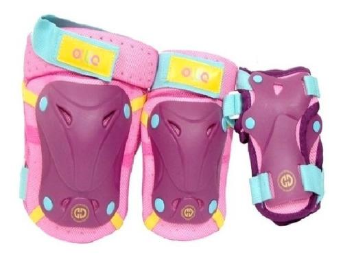 kit, set de proteccion casco skate, patines tda san miguel