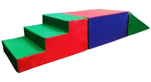 kit set módulo de psicomotricidad infantil 3 piezas