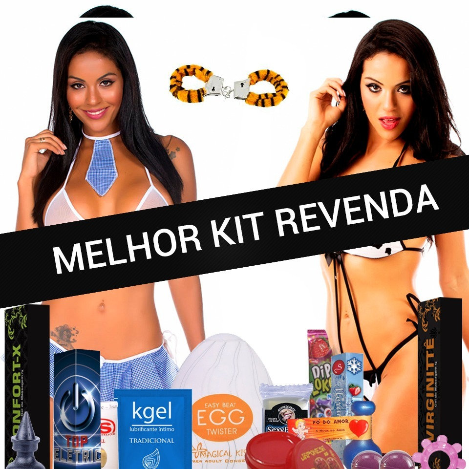 1e4fa2a34 Kit Sexshop Erotico 200 Super Revenda De Sex Shop Atacado - R  390 ...