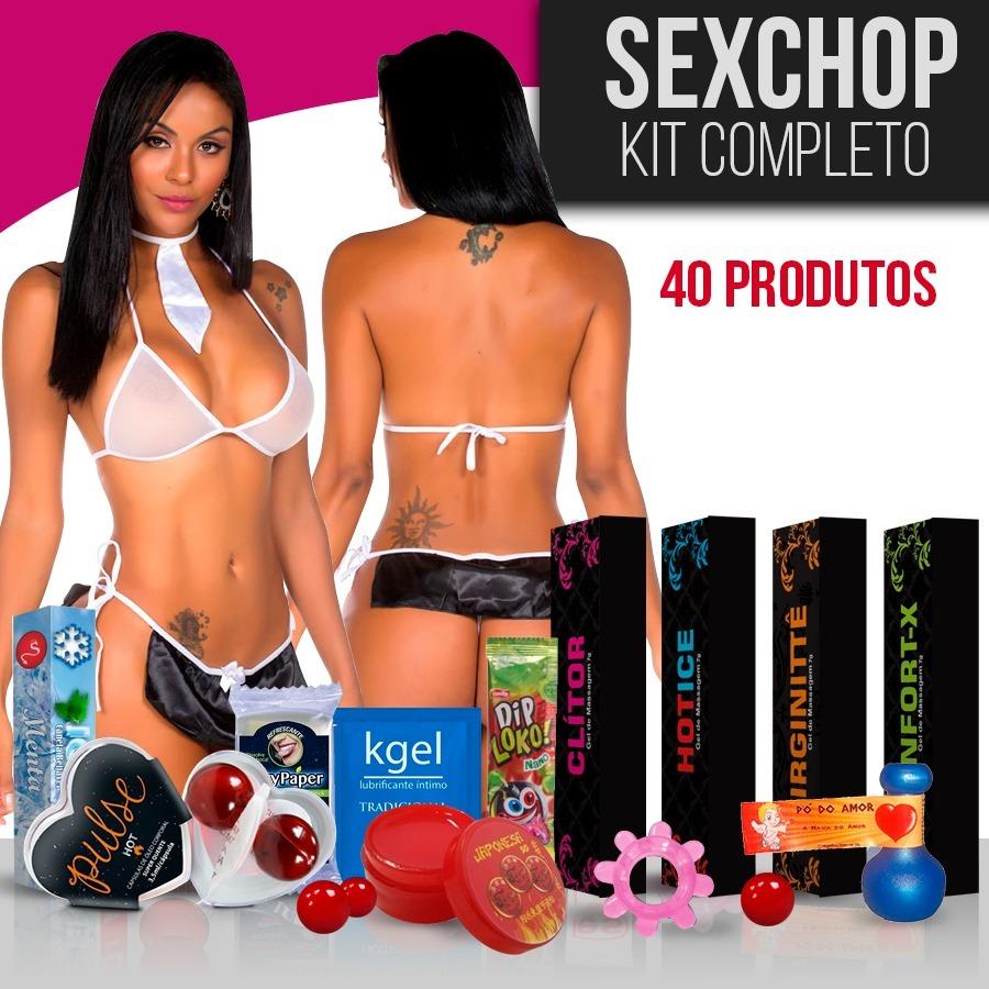 3888fcca5 Kit Sexyshop 40un Catalogo Sexshop Produto Erótico Atacado - R  139 ...