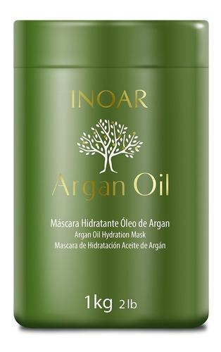 kit shampoo + cond + máscara e óleo argan oil inoar promoção