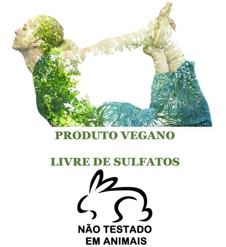 kit shampoo condic + mascara e leave-in inoar flor de lótus