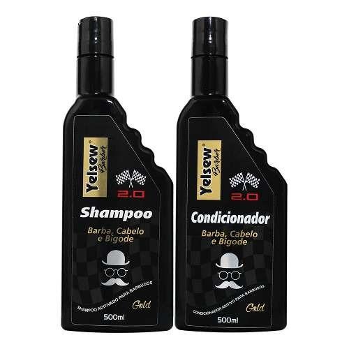 kit shampoo condicionador